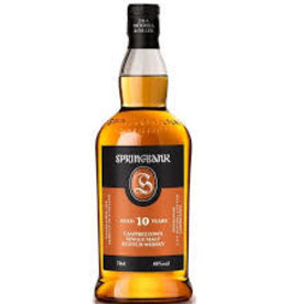 Scotch Whiskey, Single Malt, Campbeltown, 10 yr, Springbank