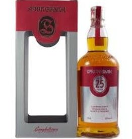 Scotch Whiskey, Single Malt, Campbeltown, 25 yr, Springbank
