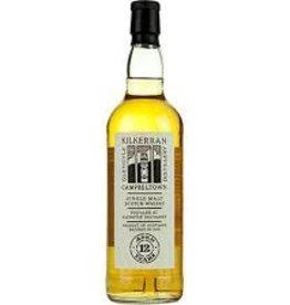 Scotch Whiskey, Single Malt, Campbeltown, 12 year Kilkerran, Glengyle (Springbank)
