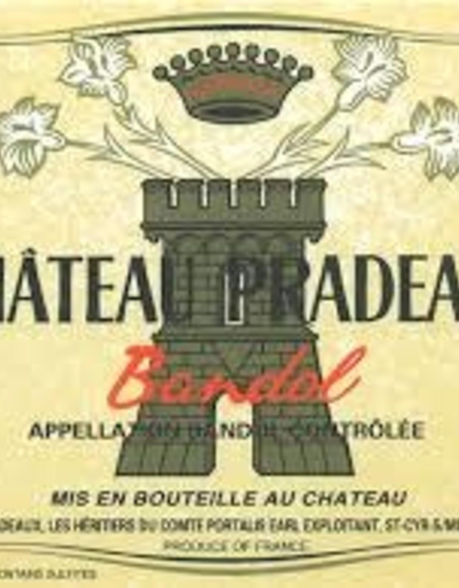 Bandol Rouge, Pradeaux 2013 (1.5 L)