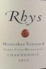 Chardonnay, Santa Cruz Mountains, HORSESHOE, Rhys 2012