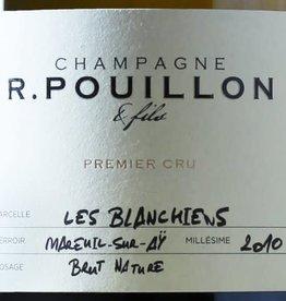 Champagne Brut Nature, LES BLANCHIENS, Mareuil-sur-Ay, R. Pouillon 2012