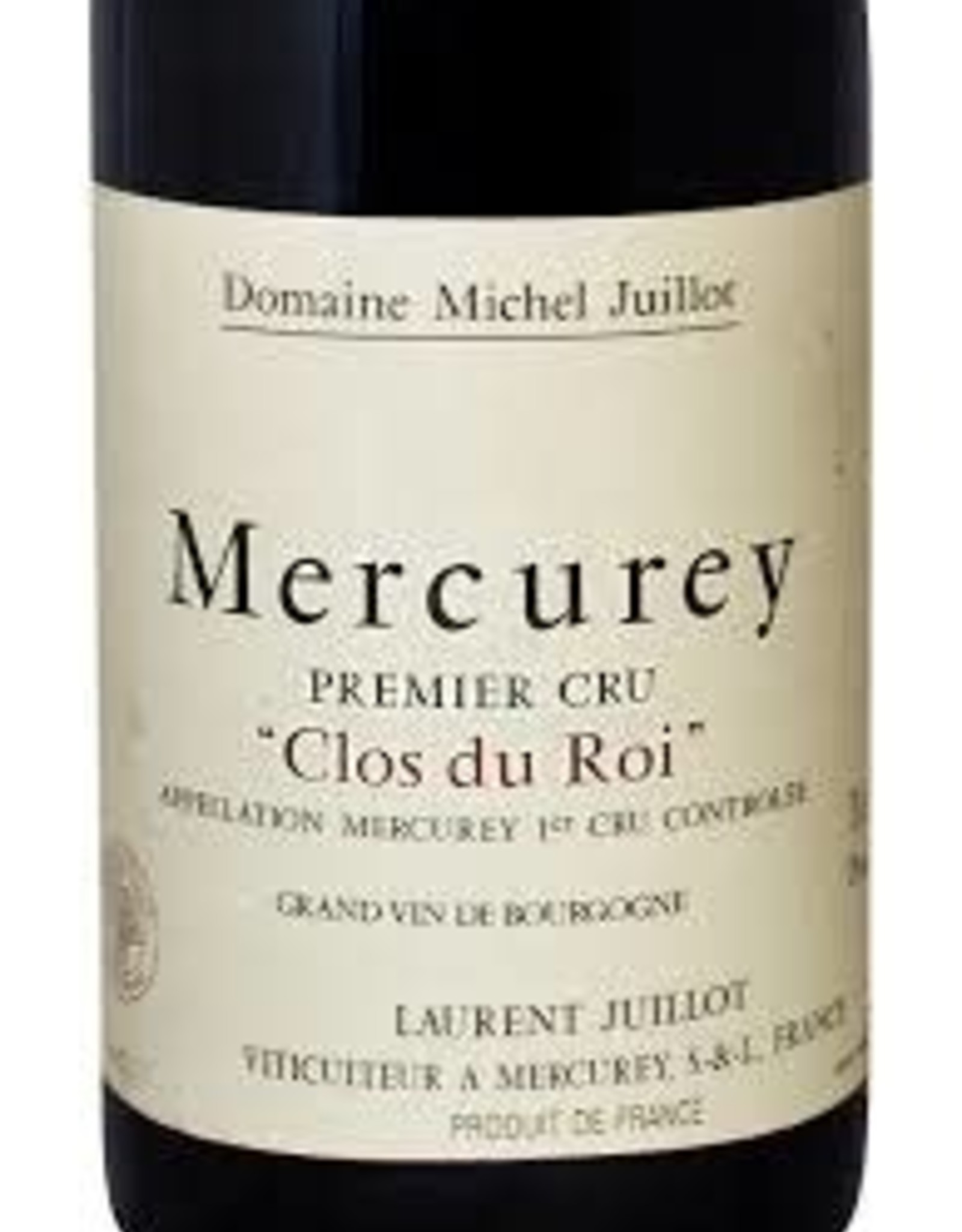 R Burgundy, Mercurey, CLOS DU ROI, Michel Juillot 2016 (1.5 L)