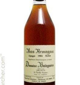 Spirits Armagnac, 'Folle Blanche, ' Boingneres 1981
