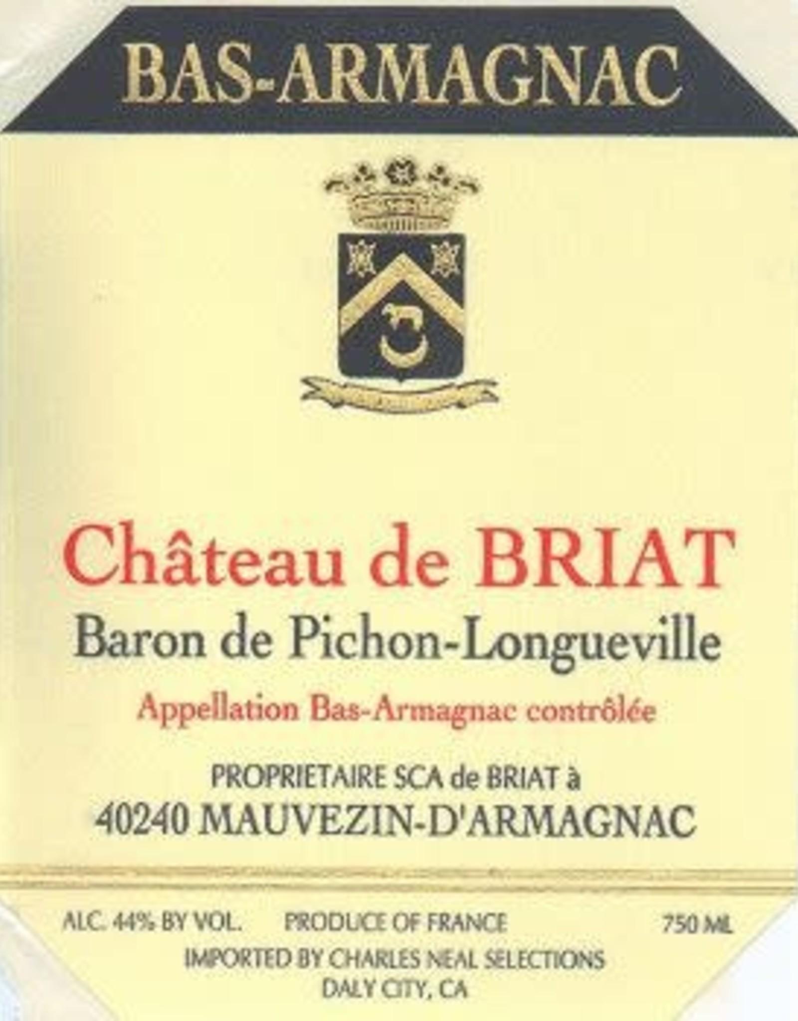 Spirits Armagnac, 'Hors d'Age, ' Briat