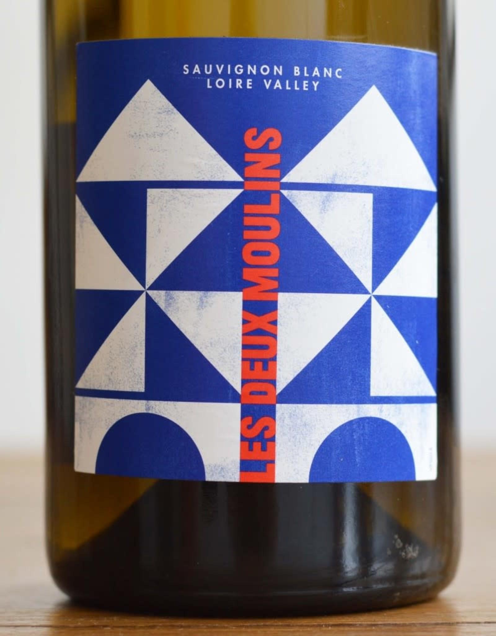 Wine-White Sauvignon Blanc, Loire Valley, Les Deux Moulins 2018