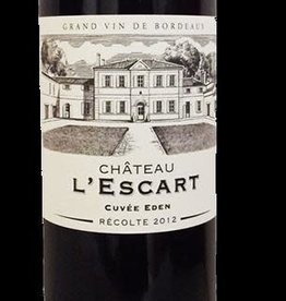 Bordeaux Superieur, 'Cuvee Eden, ' L'Escart 2018