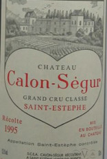 Bordeaux, Saint-Estephe, 'Grand Cru Classe,' Calon-Segur 1996