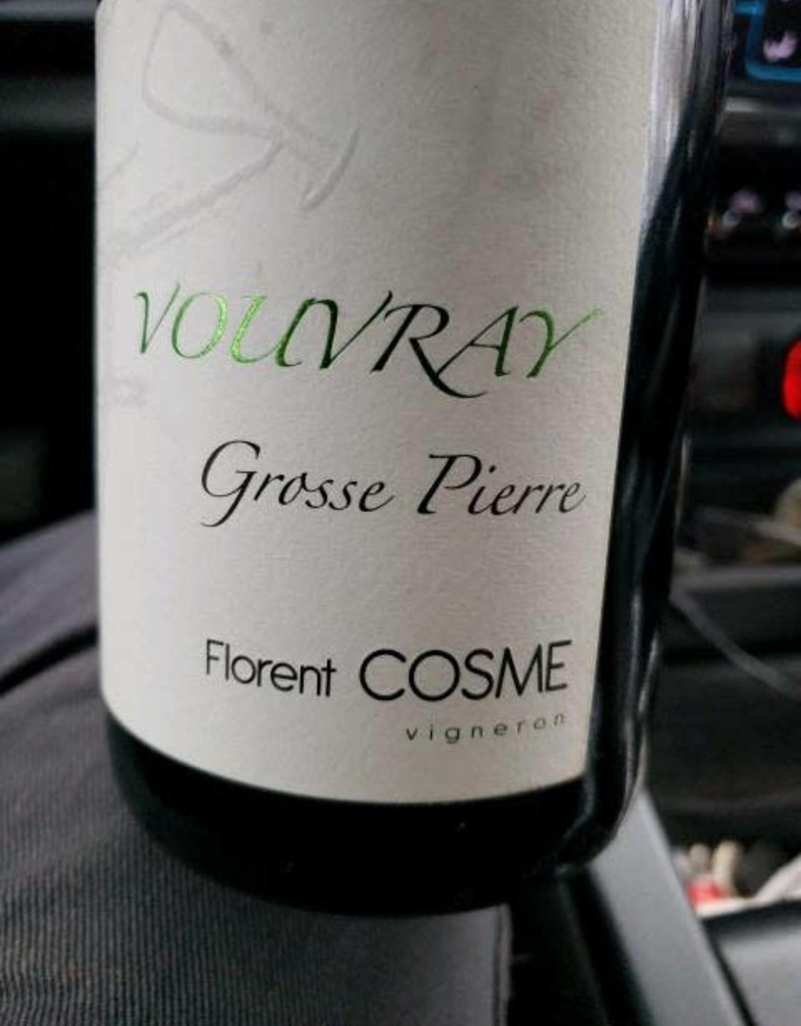 Vouvray Sec, GROSSE PIERRE, Loire, Florent Cosme 2019