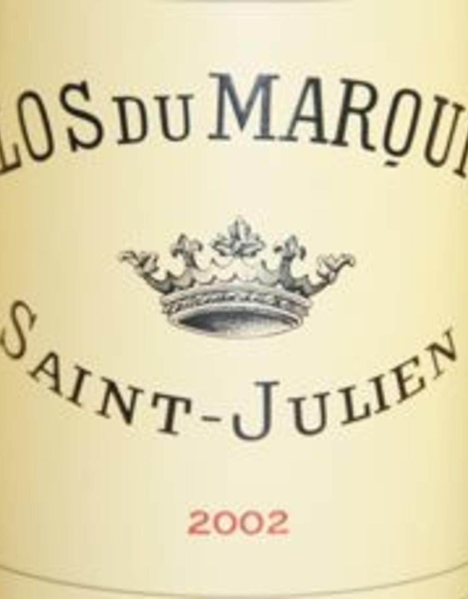 Bordeaux, Saint Julien, Clos de Marquis 2002 (LEOVILLE- LAS CASE)