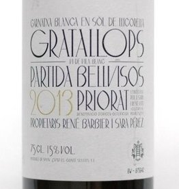 Priorato Blanco, 'Partida Bellvisos,' Rene Barbier and Sara Perez 2013