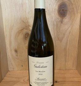 Wine-White Chenin Blanc, Samur, LES MOULINS, Loire, Guiberteau 2018