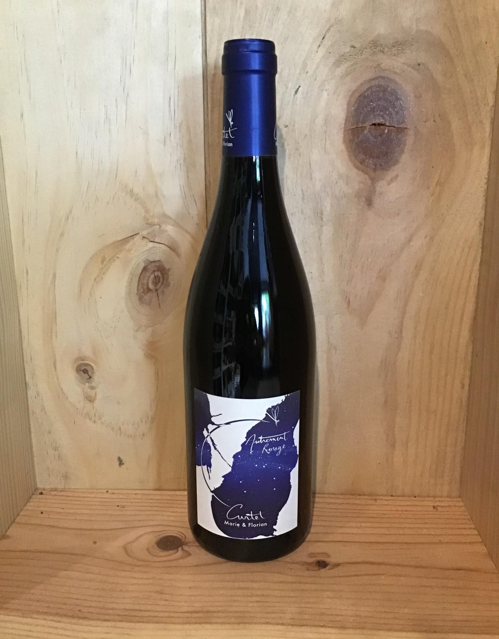 Gamay, Pinot Noir, Mondeuse, AUTREMENT ROUGE, Savoie, Curtet 2017