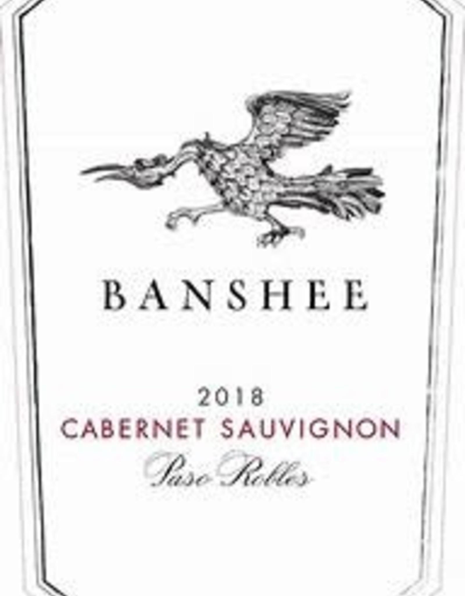 Cabernet Sauvignon, PASO ROBLES, Banshee 2018
