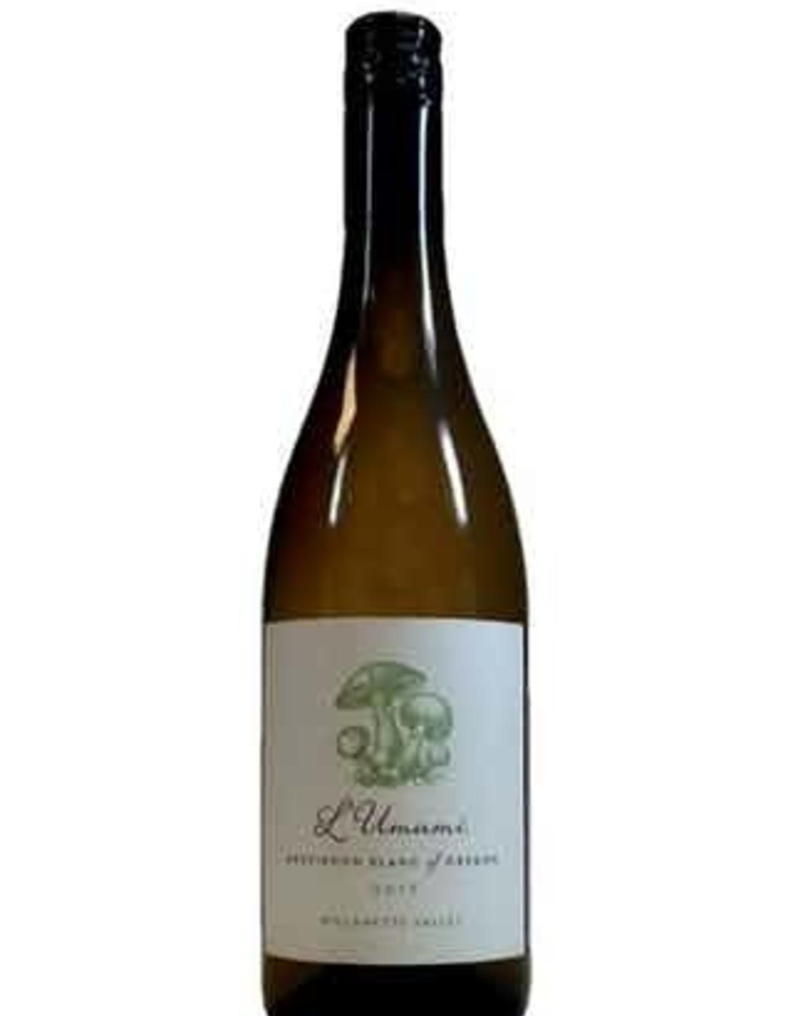 Wine-White Sauvignon Blanc, Willamette, L'Umami 2018
