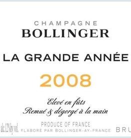 Champagne Champagne Brut, LA GRANDE ANNEE, Bollinger 2008