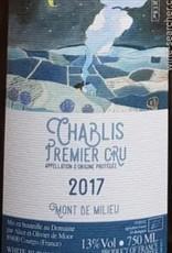 W Burgundy, Chablis 1er, MONT DE MILIEU, De Moor 2017