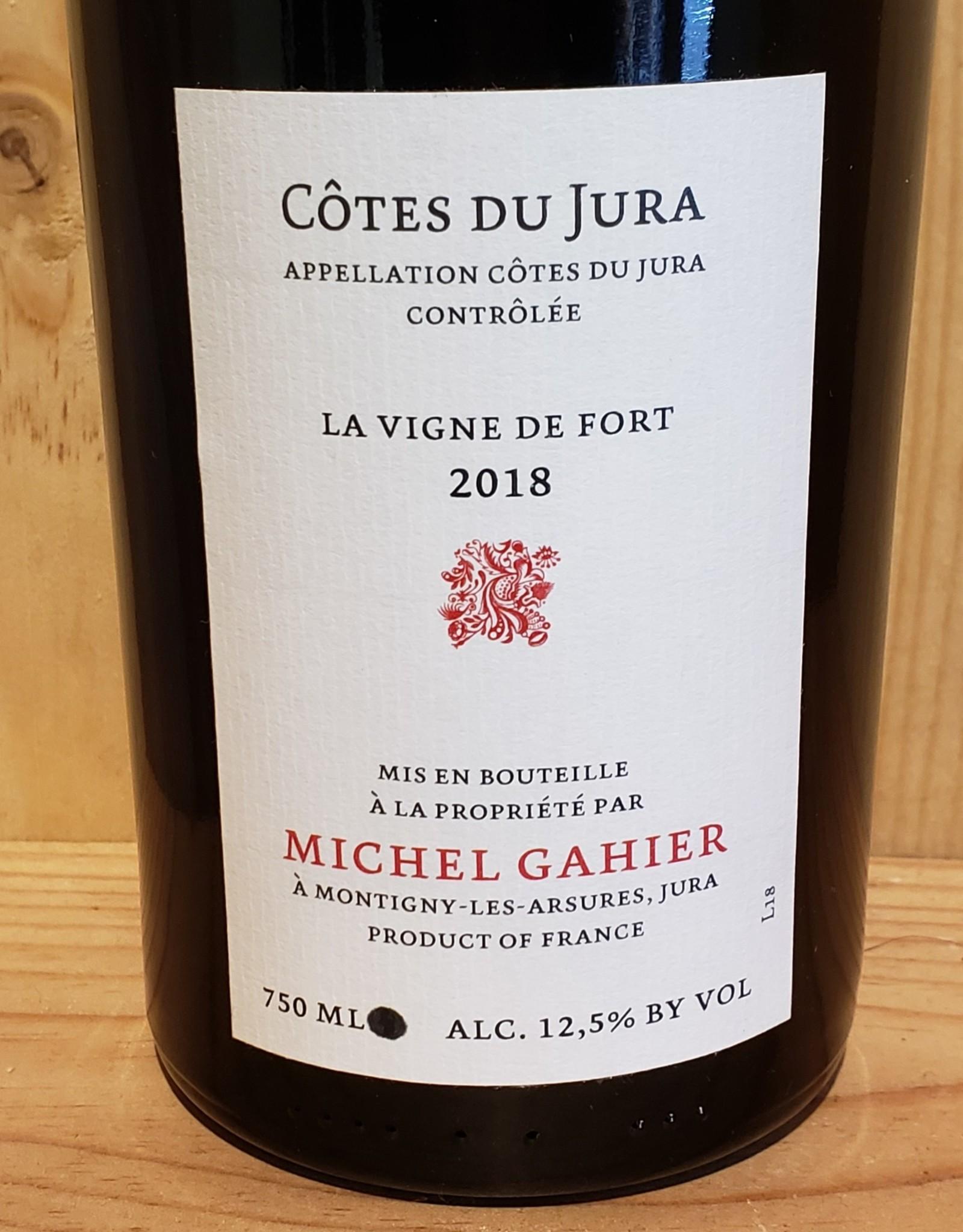 Trousseau/Poulsard, Cote Du Jura, 'La Vigne de Fort,' Michel Gahier 2018