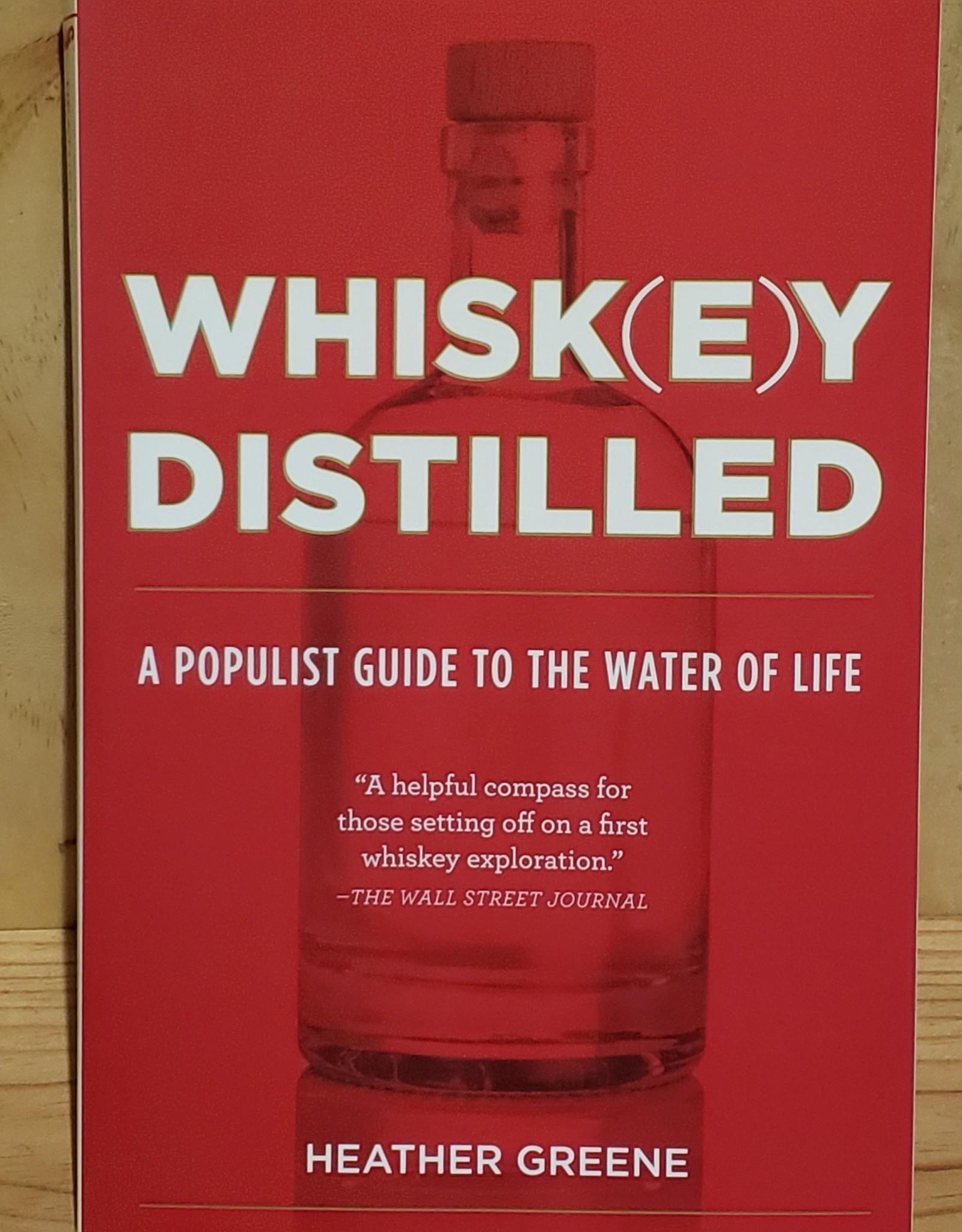 Books, Whiskey Distilled