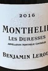 W Burgundy, Monthelie Blanc les Duresses, Benjamin Leroux 2016