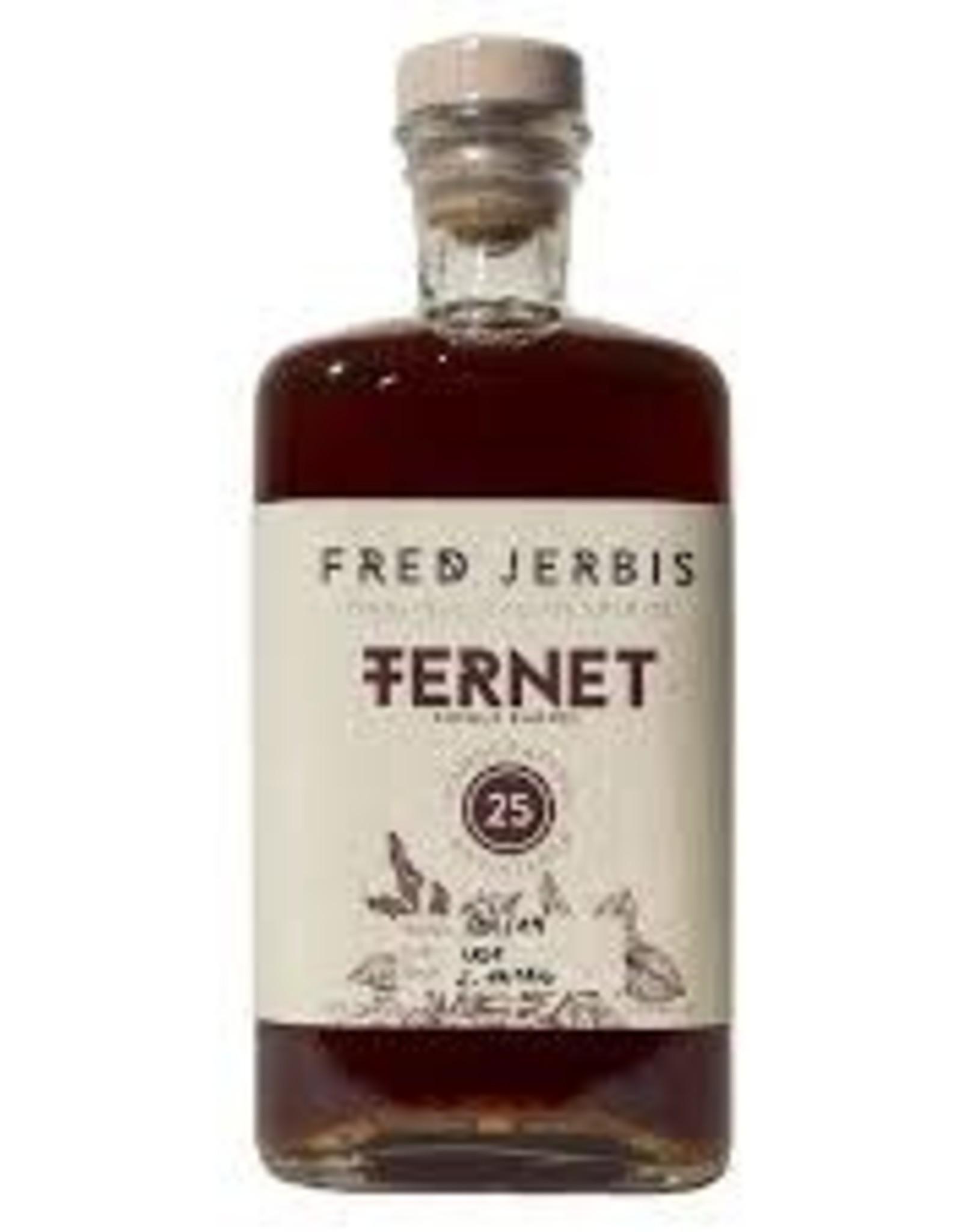 Spirits Fernet 25, Fred Jerbis