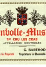 R Burgundy, Chambolle Musigny 1er, LES CRAS, Barthod 2017