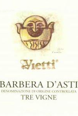 Barbera d'Asti, TRE VIGNE, Vietti 2018