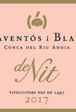 Conca d' Anoia Sparkling Rose, 'de Nit, ' Raventos i Blanc 2017
