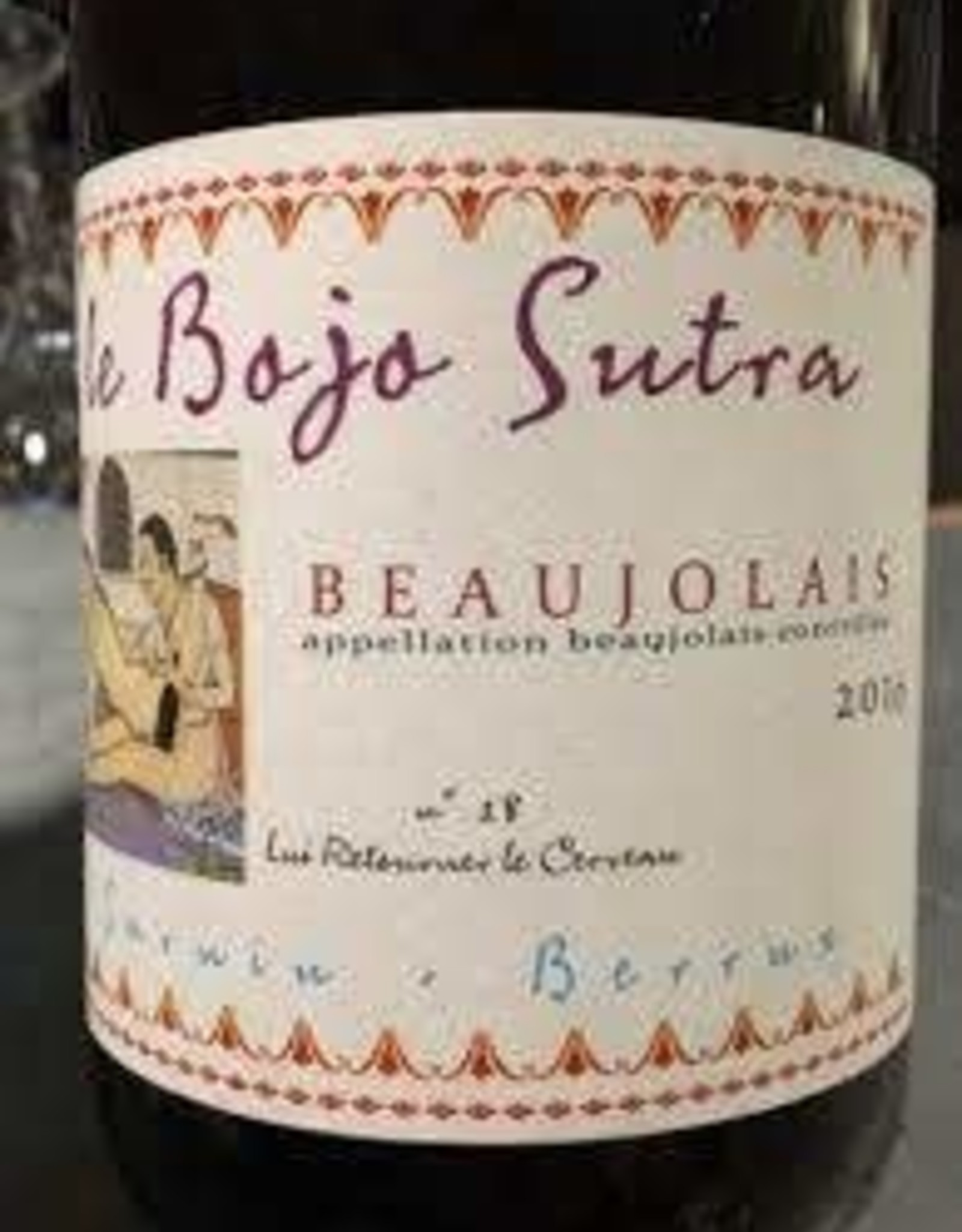 Beaujolais, LE BOJO SUTRA, Sarnin-Barruz 2019