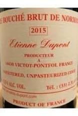 Cider, Normandy, Cidre Bouche Brut, Etienne Dupont 2018 (375 ML)
