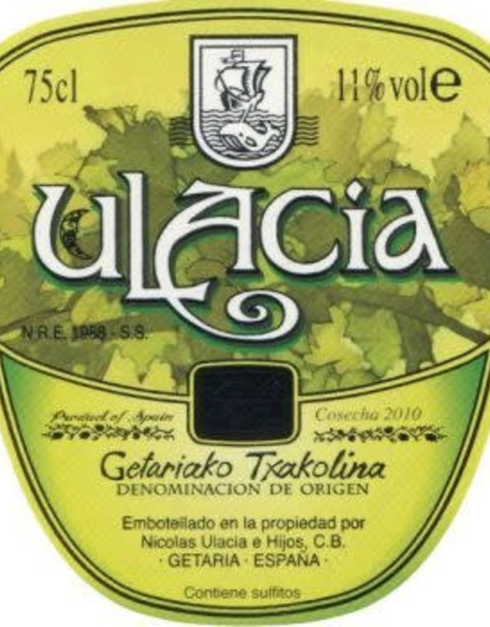 Wine-White Txakolina, Ulacia 2019