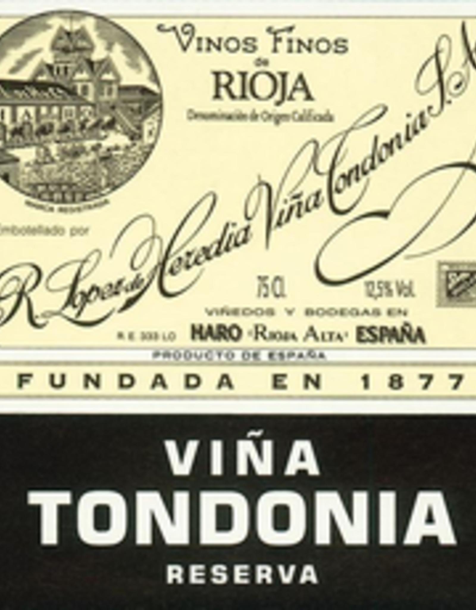 Rioja Reserva, VINA TONDONIA, Lopez de Heredia 2008