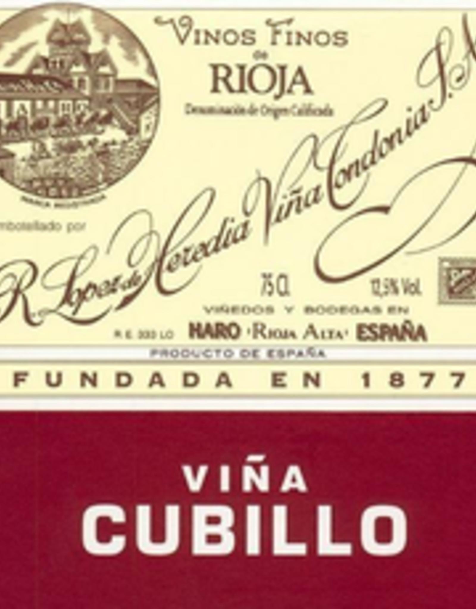 Rioja Crianza, CUBILLO, Lopez de Heredia 2012