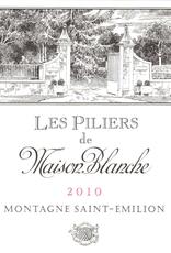 """Bordeaux, Saint Emilion, """"Les Piliers de Maison Blanche Montagne ,"""" Maison Blanche 2016"""