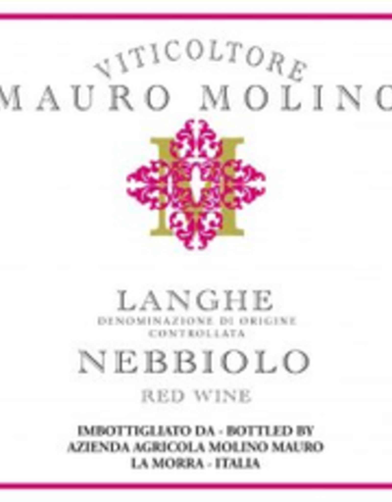 Nebbiolo, Langhe, Mauro Molino 2019