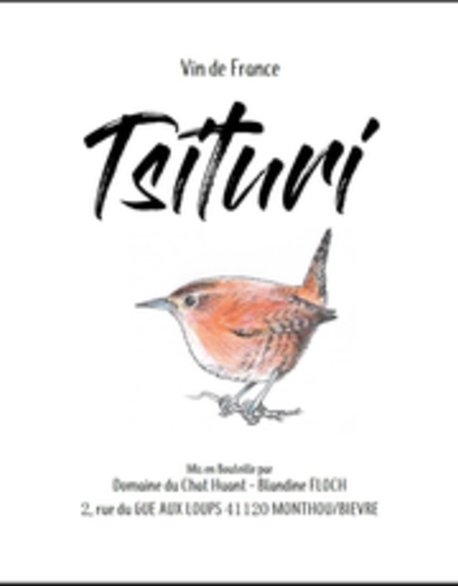 "Skin Contact, Sauvignon Blanc, Loire Valley, ""Tsiturri,"" Chat Huant 2020"