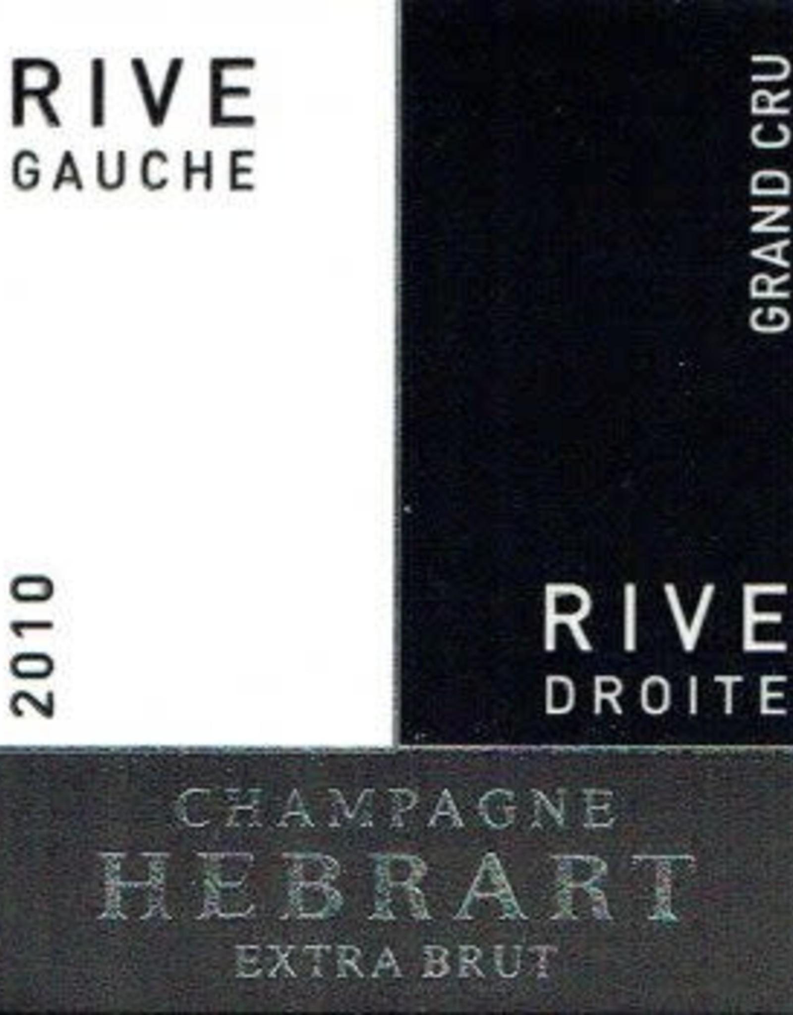 Champagne Grand Cru Brut, Rive Gauche - Rive Droite, Marc Hebrart 2013