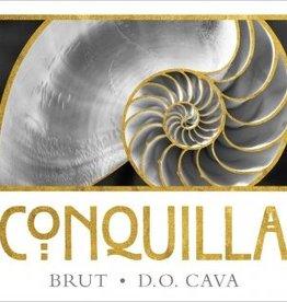 Wine-White-Sparkling Cava Brut, Conquilla NV (375ml)