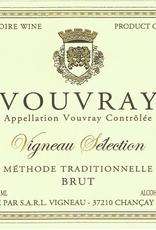 """Sparkling Vouvray, """"Sélection Vouvray Brut Méthode Traditionnelle,"""" Vigneau-Chevreau NV"""