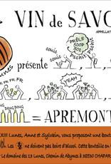Vin de Savoie, APREMONT, Les 13 Lunes 2020