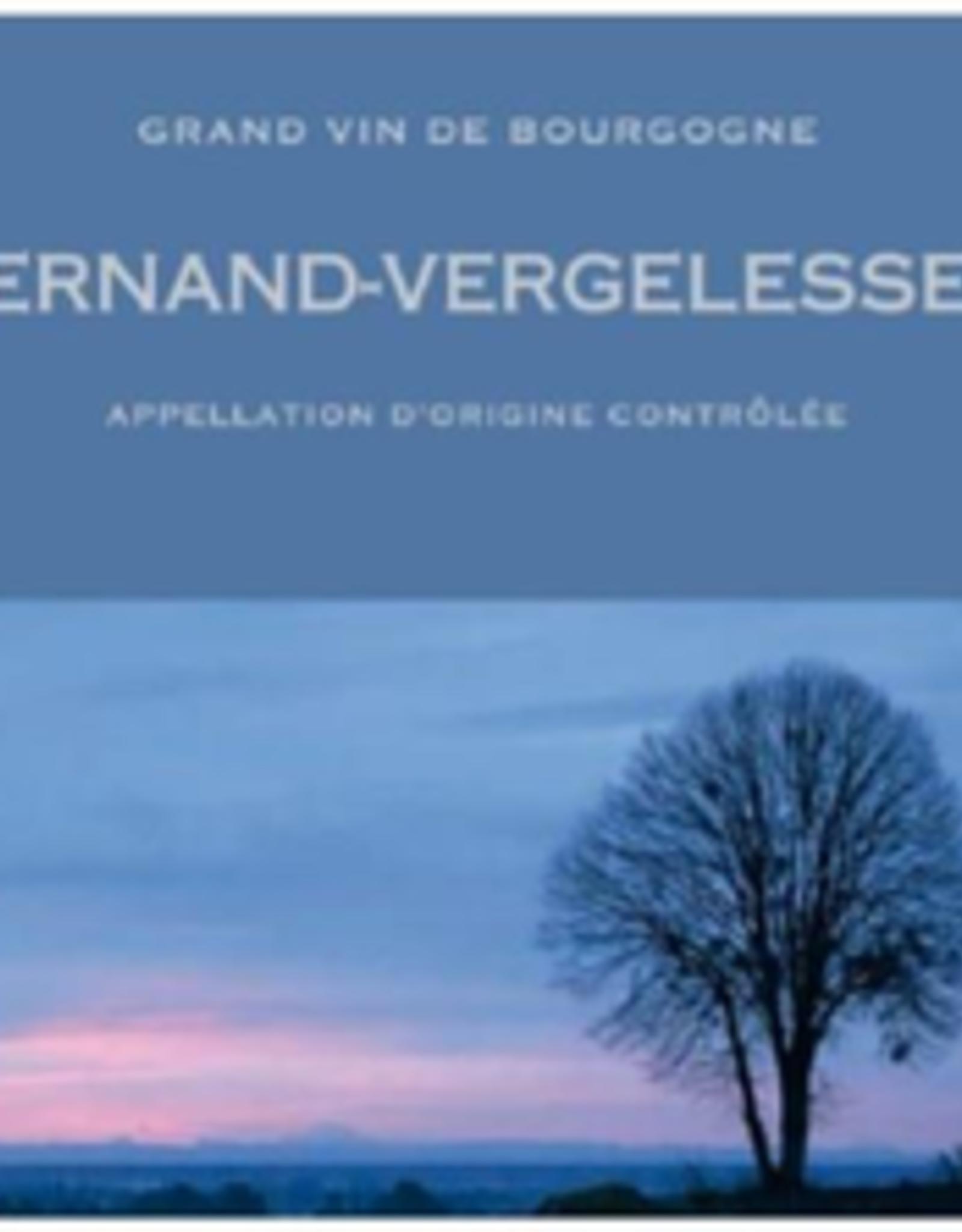 W Burgundy, Bourgogne, Pernand-Vergelesses, Skyaasen 2019