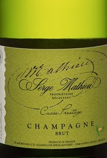 """Champagne Brut, """"Cuvee Prestige,"""" Serge Mathieu NV (1.5 L Magnum)"""