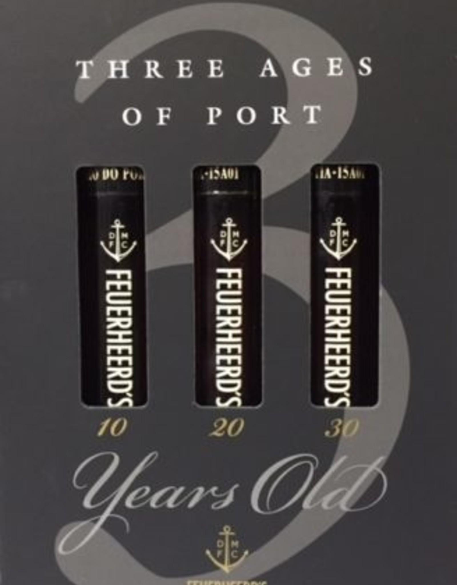 Three Ages of Port Gift Box Set, Feuerheerd's (3x50 ML Bottles)