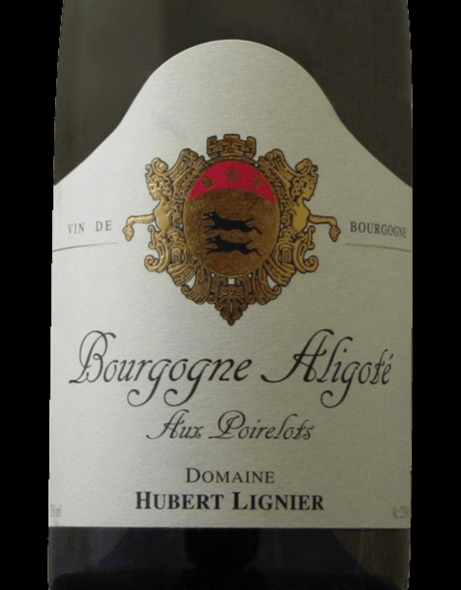 """W Burgundy, Bourgogne Aligote, """"Aux Poirelots,""""Hubert Lignier 2019"""