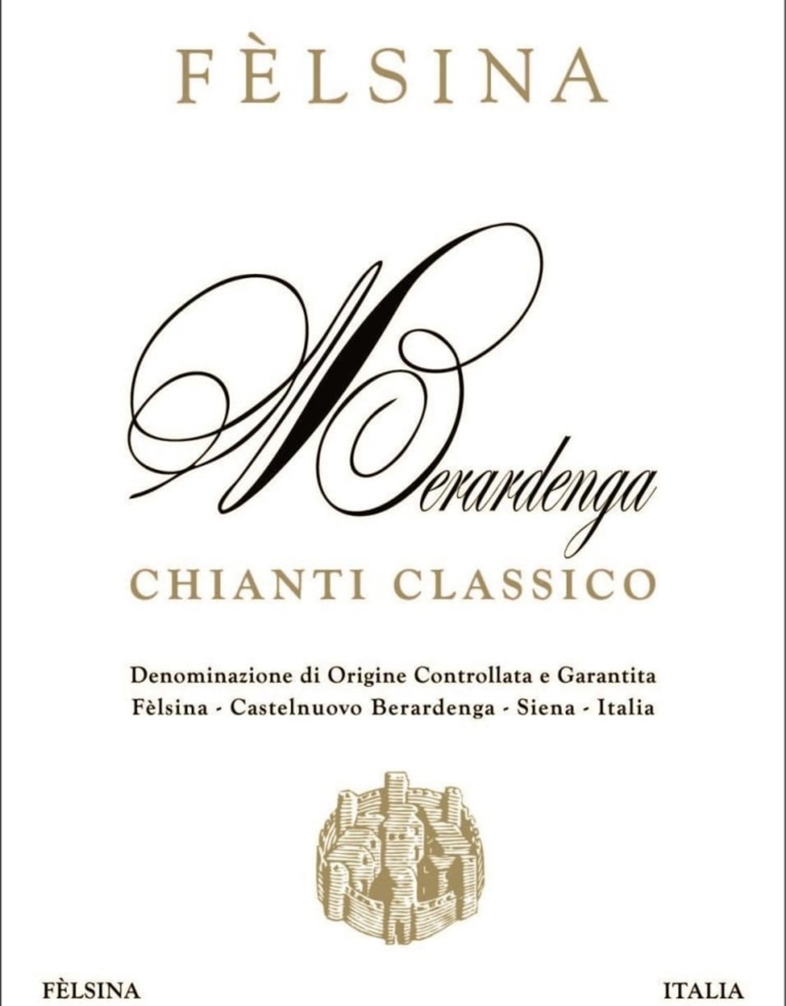 Chianti Classico, BERARDENGA, Felsina 2018 (375 ML)