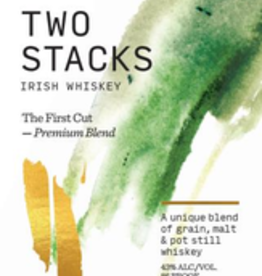 """Irish Whiskey, """"The First Cut,"""" Two Stacks"""