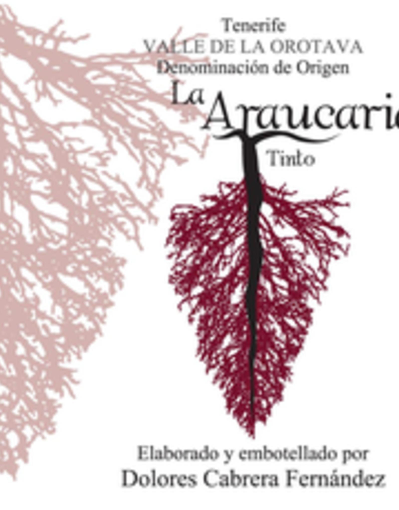 """Listan Negro, Canary Islands, """"Valle de la Orotava La Araucaria Tinto,"""" Dolores Cabrera Fernández 2018"""