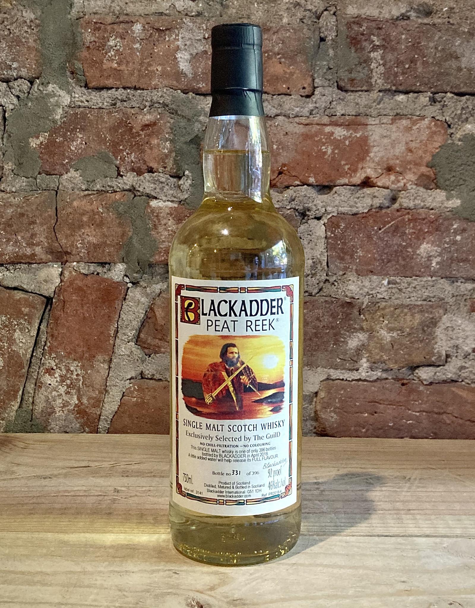 Single Malt Scotch Whiskey, Peat Reek 46%, Blackadder