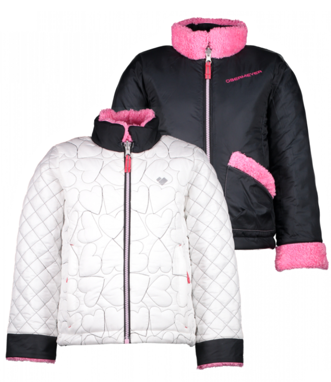 Obermeyer Obermeyer Girl's Jitterbug Reversible Jacket