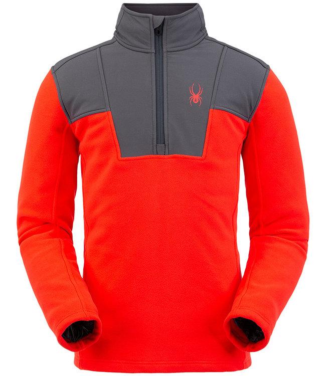Spyder Men's Basin Half Zip Fleece Jacket